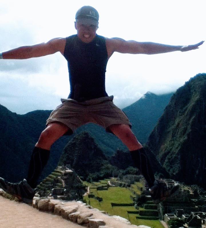 Nomadic FIRE Machu Picchu Jump