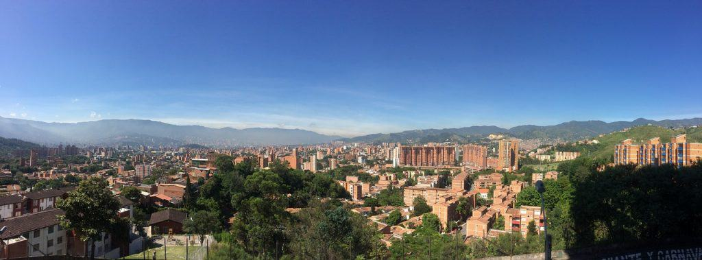 Nomadic FIRE Medellin View