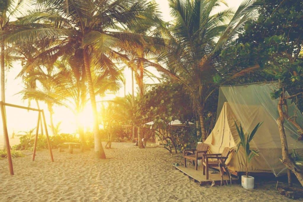 Retire to Colombia and sleep on the beach at Tayrona National Park