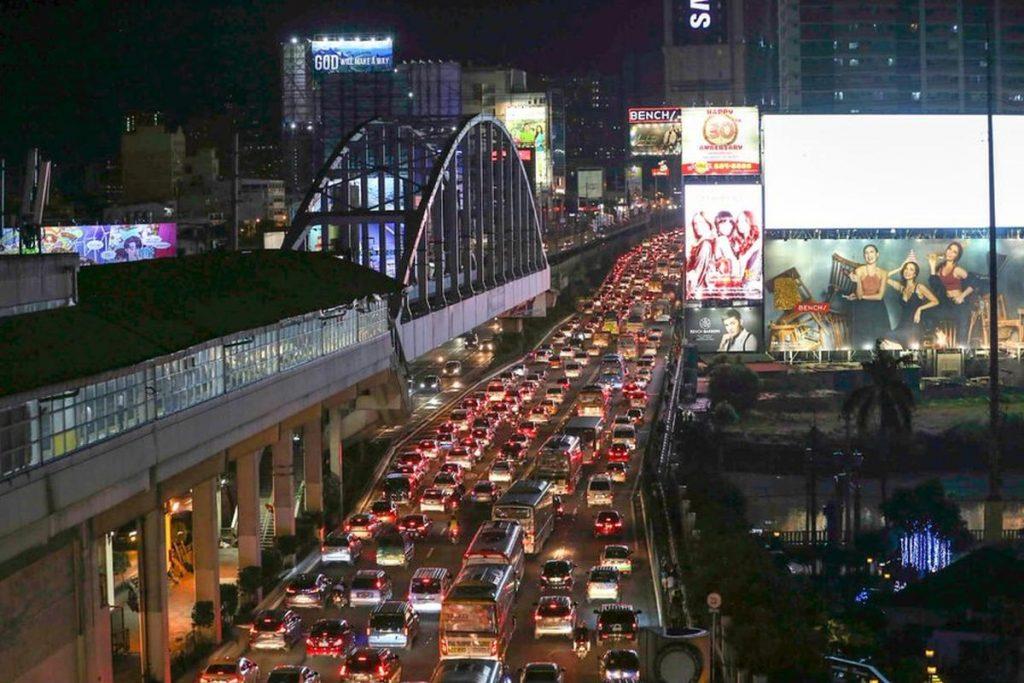 Nomadic FIRE Manila Traffic