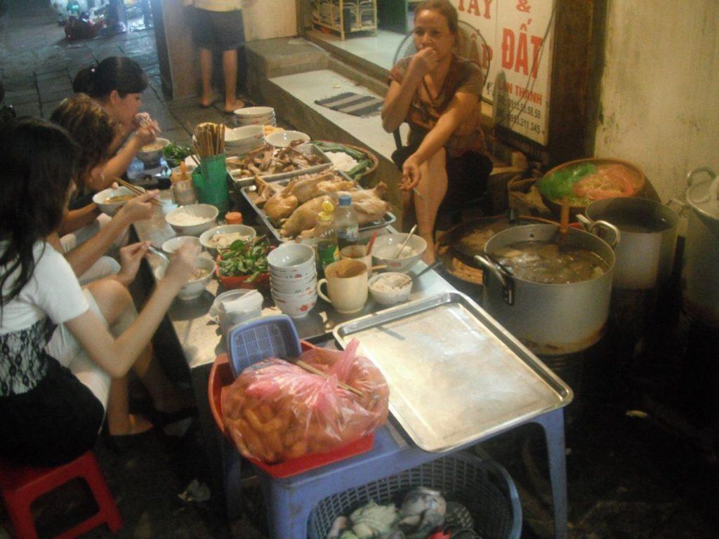 Nomadic FIRE Vietnam Hanoi Street Food