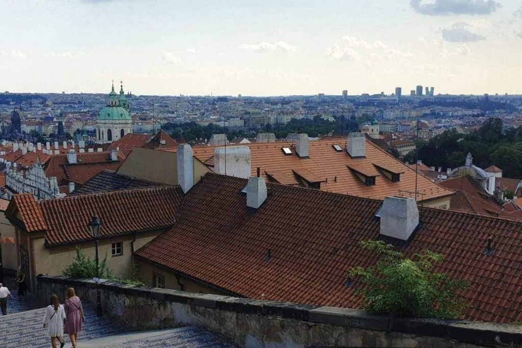 Nomadic FIRE Czechia Prague City View
