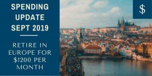 Nomadic FIRE Sept 2019 Spending Update