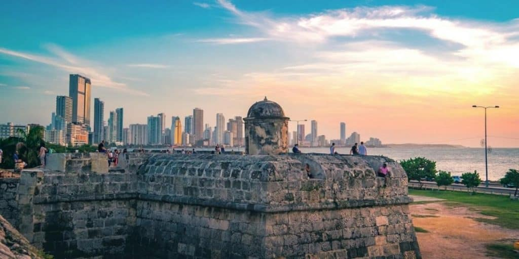 Spending my retirement overseas watching  sunsets by the ocean in the colonial fort of Cartagena, Colombia