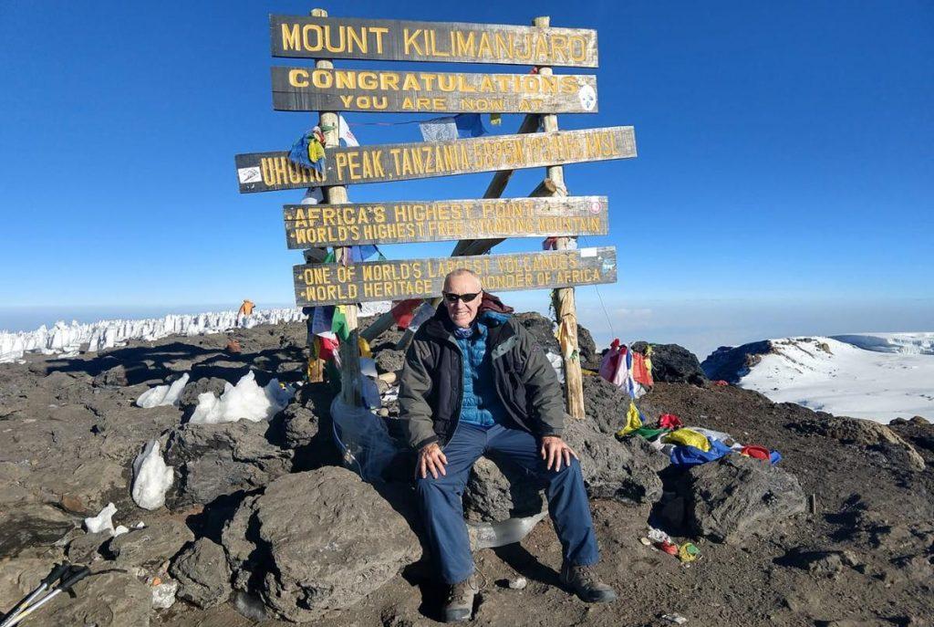 My dad climbed Mt. Kilimanjaro at age 71.
