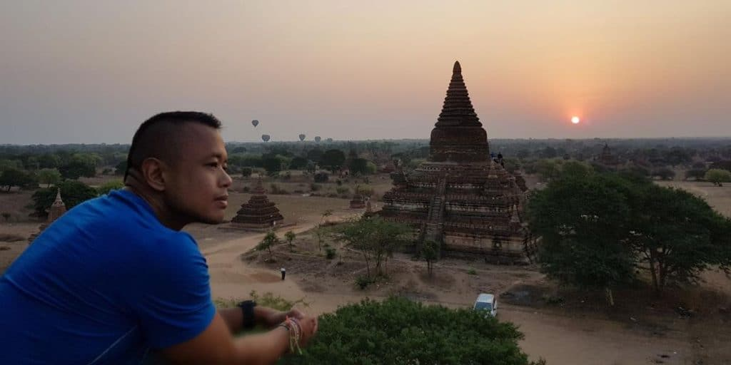 I choose to spend my retirement watching the sun rise over the temples in Bagan, Myanmar
