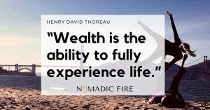 NomadicFIRE Financial Independence Job Optional