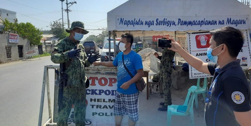 Nomadic FIRE Philippines Military Checkpoint COVID19