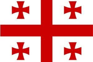 Nomadic FIRE Georgia Flag