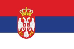 Nomadic FIRE Serbia Flag