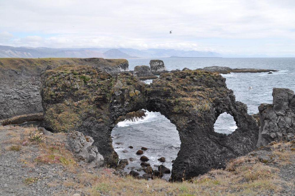 Nomadic FIRE Iceland Snaefellsnes Gatklettur Arch Rock Arnarstapi