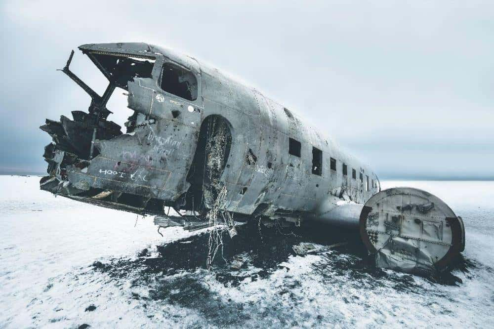 Nomadic FIRE Iceland Solheimasandur Plane Crash