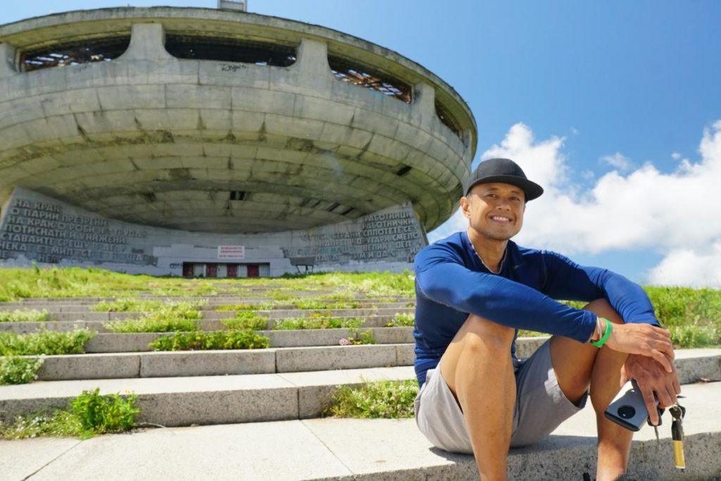 Nomadic FIRE Bulgaria Budludza UFO Monument